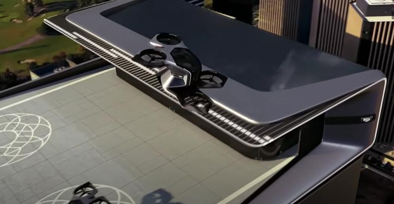 不只自動駕駛還能飛天 空中通勤將成未來新趨勢
