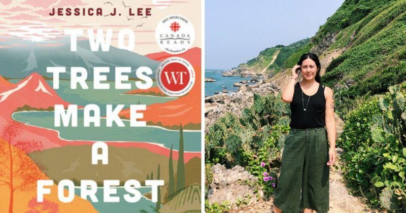 ▲《Two Trees Make a Forest》是一部紀錄台灣自然、旅遊寫作和回憶錄的混合型作品。(圖/Jessica Lee提供)