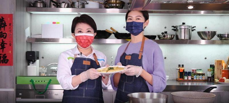 盧秀燕親授「金元寶」秘訣 網友流口水:可惡,想吃