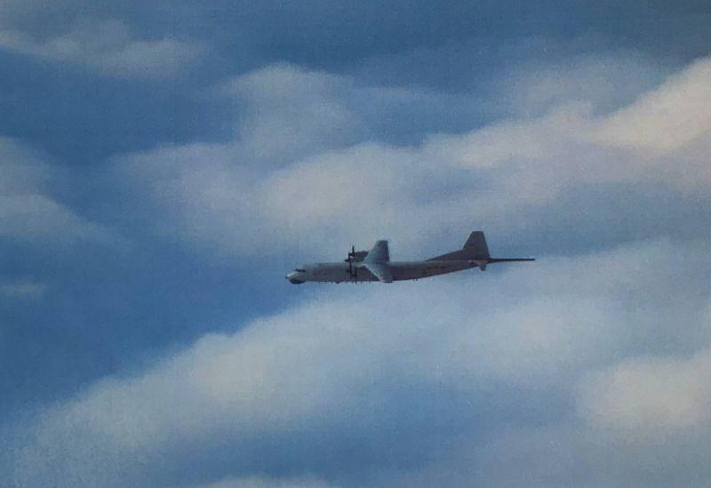 ▲共軍運8反潛機。(圖/空軍司令部提供)