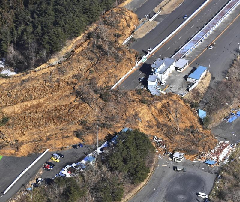 日本東北強震至少152傷 新幹線受損部分停駛