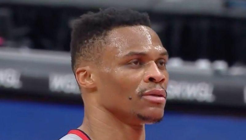 NBA/我問天!我問天!威少罰球麵包後懷疑人生
