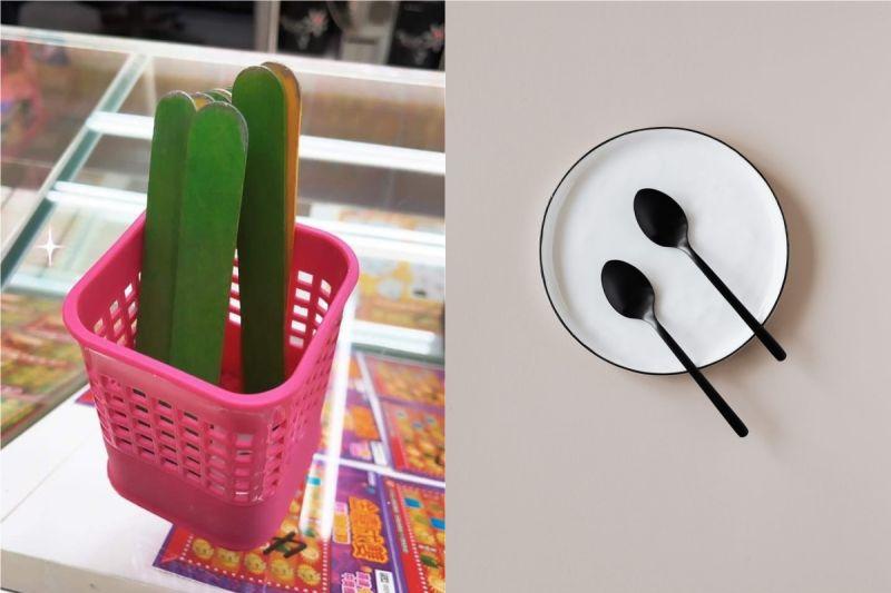 ▲有網友分享,有客人把自己的湯匙拿去刮卡。(示意圖/翻攝自《pexels》 )