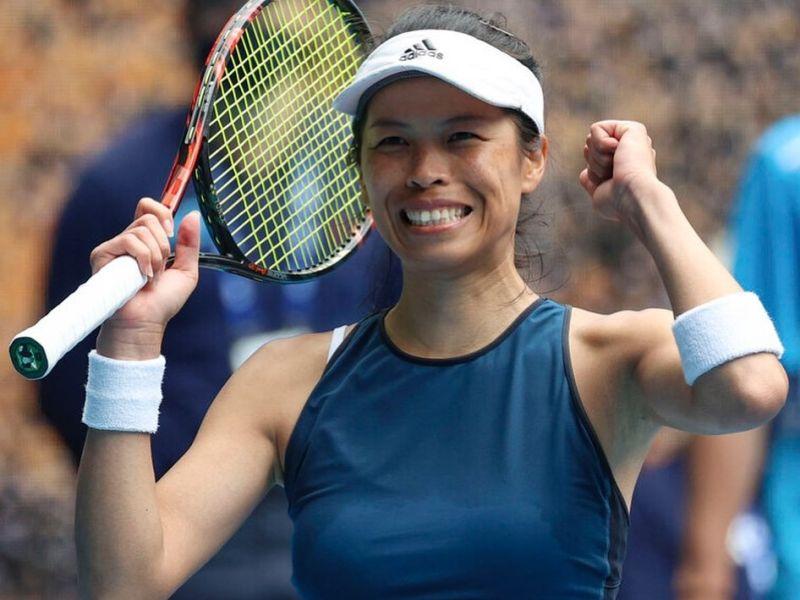 網球/謝淑薇無緣4強仍寫紀錄 賽後感性發文感謝團隊