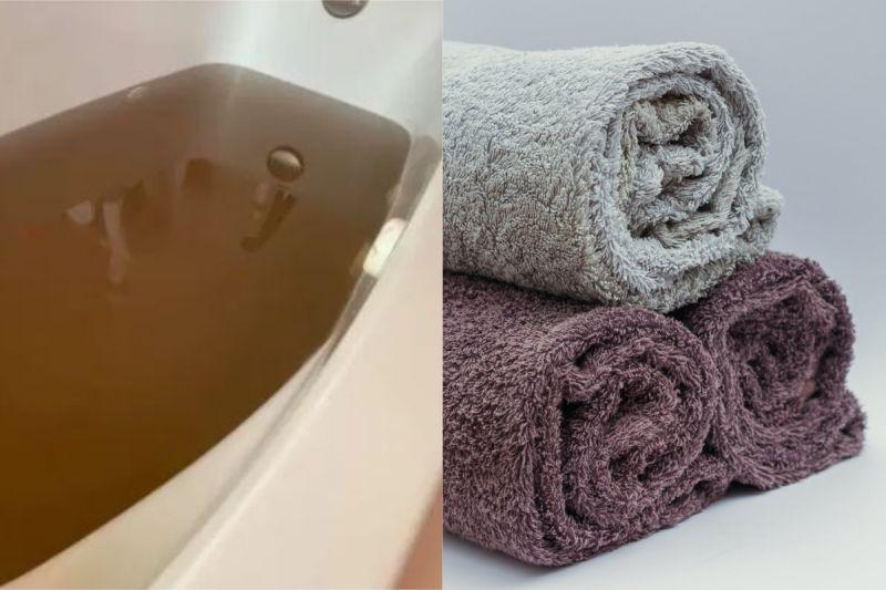 毛巾真的乾淨?人妻實測「清潔法」泡1晚 成果讓網嚇傻