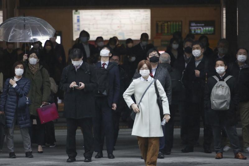 ▲有日媒15日報導,東京曾在去年11月中旬至今年1月底,漏報838起確診。圖為近日東京街頭。(圖/美聯社/達志影像)