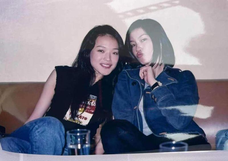 ▲舒淇(左)、林熙蕾未修圖合照。(圖/舒淇臉書)