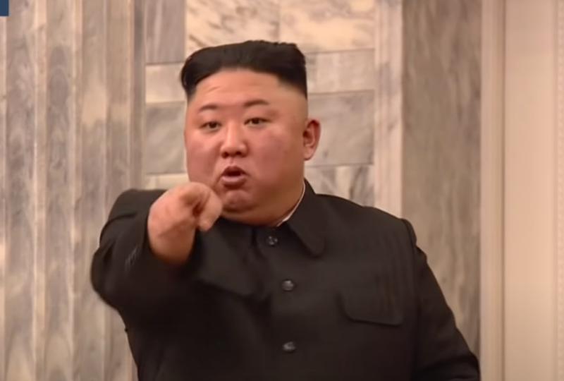 ▲北韓領導人金正恩近日在勞動黨第8屆中央委員會第2次全體會議中,因經濟政策推行成效不佳而大動肝火。(圖/擷取自Youtube影片)