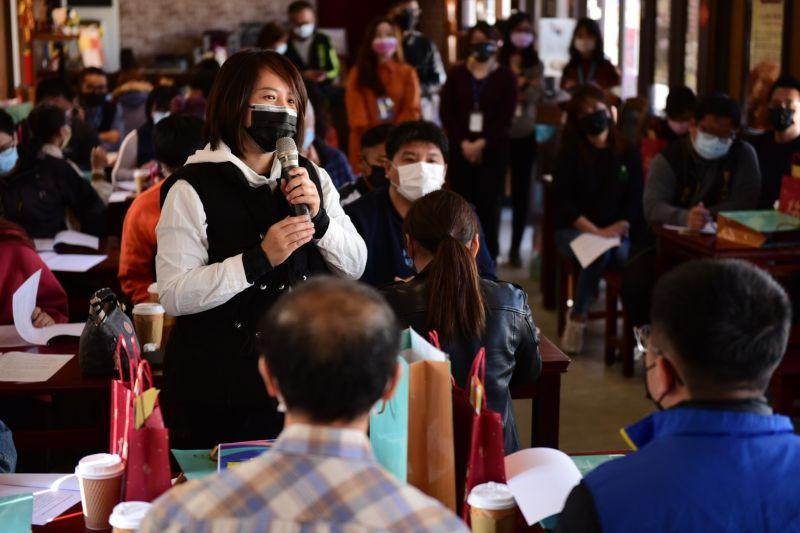 ▲因應疫情衝擊文化產業,台中文化局舉辦紓困座談會,表藝團體逾20組參加,發言踴躍。(圖
