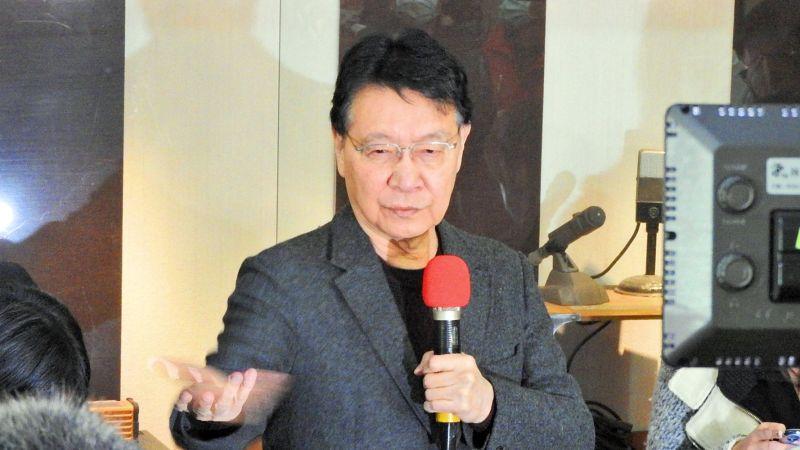 ▲中廣董事長趙少康。(圖/記者陳弘志攝,2021.02.18)