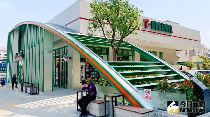 超商第6000店在高雄 綠建築「鳳儀展翅」還有智能體驗