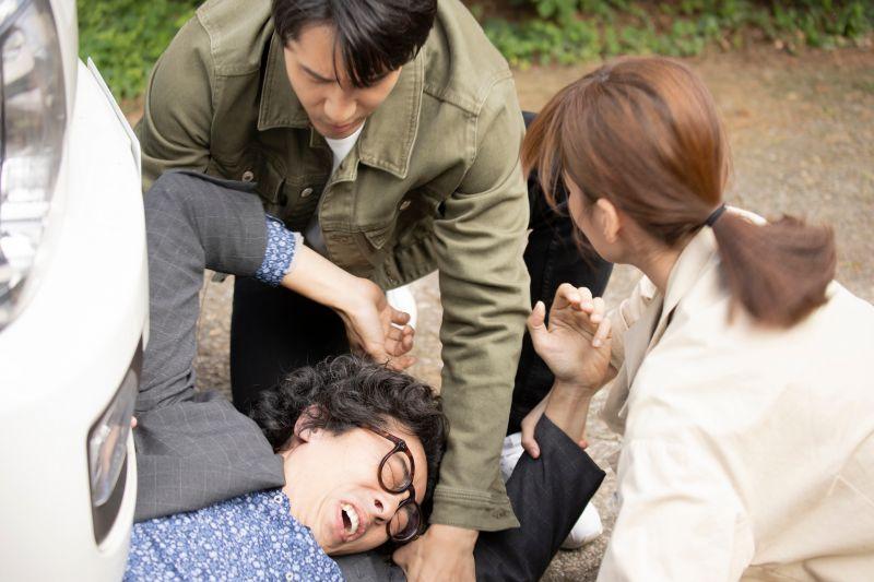 ▲馬念先(左)遭歹徒挾持遇難。(圖/東森提供)