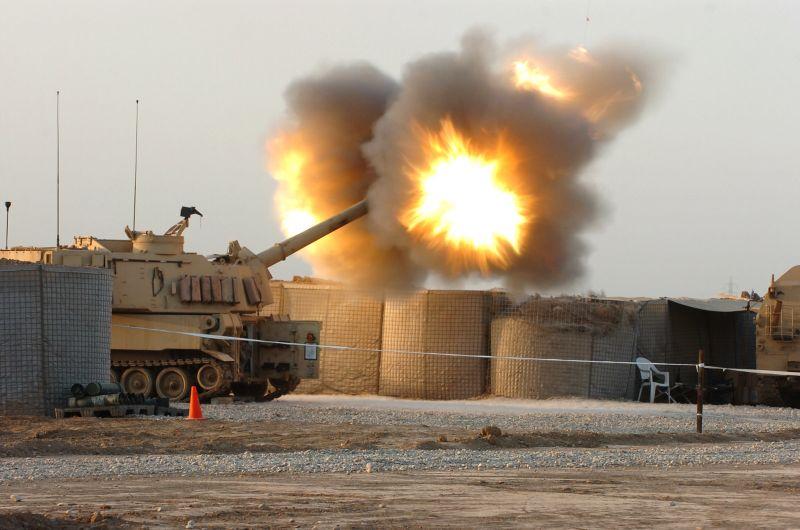 ▲M109A6自走砲車。(圖/美國陸軍)