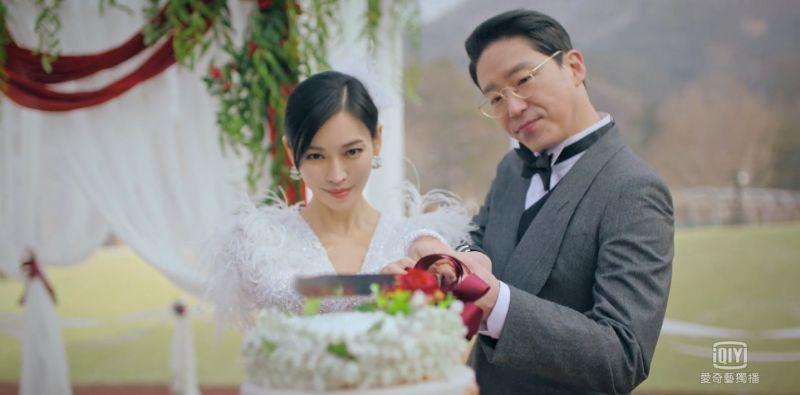 ▲▼劇中,嚴基俊(上圖右)跟金素妍再婚,遇到尹鐘焄(下圖右二)跟柳真搗亂。(圖/愛奇藝國際站)
