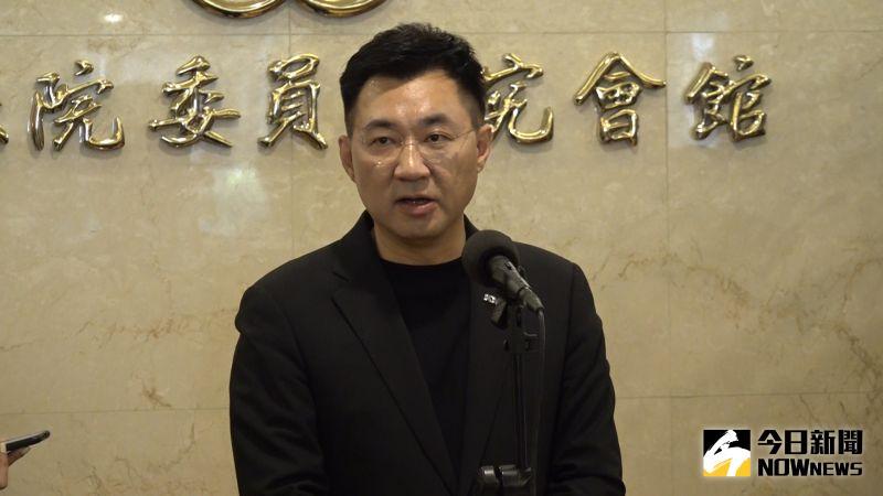 影/談國安人事異動 江啟臣:蔡英文應親自說明兩岸規劃