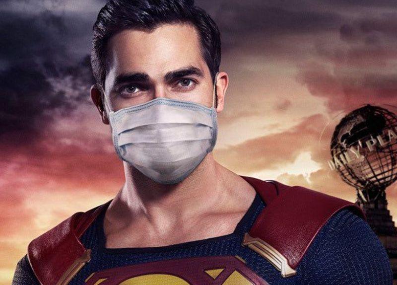 「<b>超人</b>」領軍戴口罩 擔心超能力遺傳給小孩