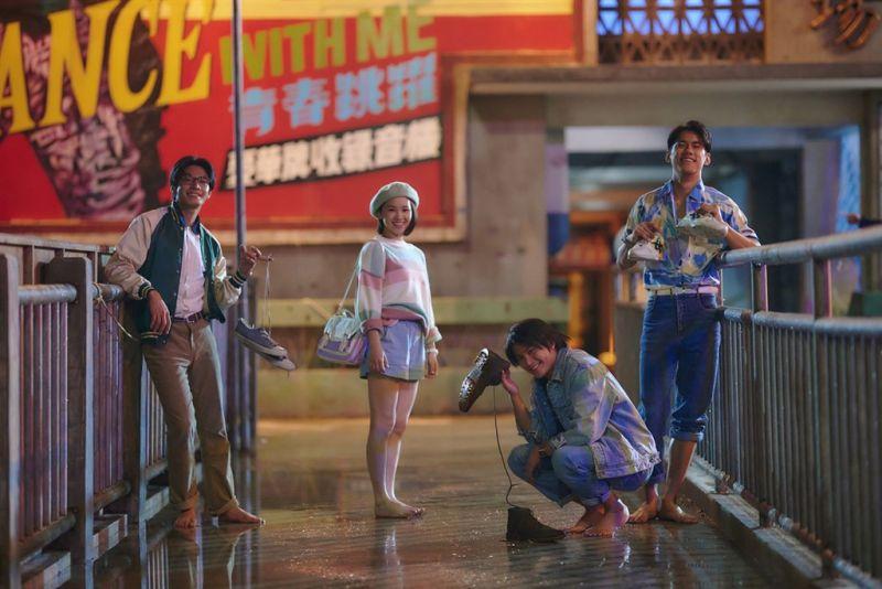 ▲天橋三少和盧以恩很受觀眾喜愛。(圖/公視、myVideo提供)