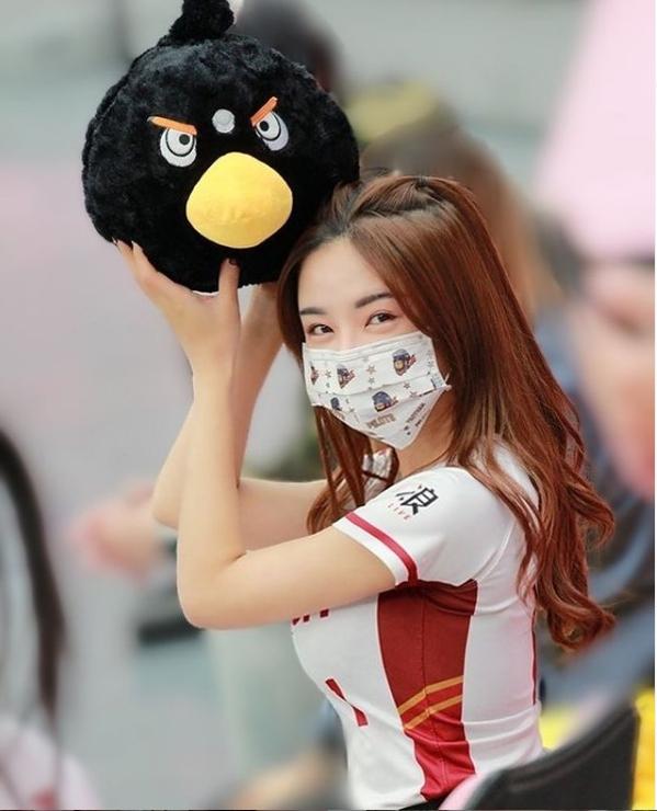 ▲巫苡萱被封為「啦啦隊女神」。(圖/巫苡萱
