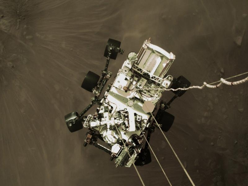 NASA毅力號登陸成功!首度傳回「火星之聲」