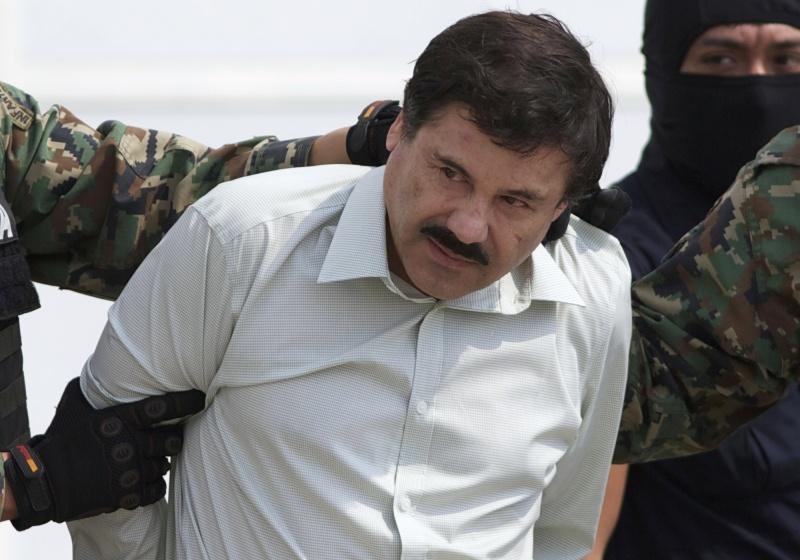▲墨西哥頭號毒梟古茲曼(Joaquin Guzman)數年前被美國狼狽逮捕,現在他妻子也因跨境走私被捕。(圖/達志影像/美聯社)
