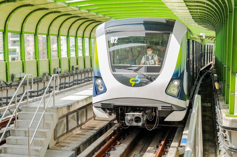 ▲台中捷運日前恢復通車,帶給當地民眾不一樣的通勤新選擇。(圖/NOWnews資料照片)