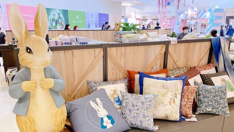 ▲英國比得兔寢具展售會下殺3折起。(圖/大魯閣草衙道提供)
