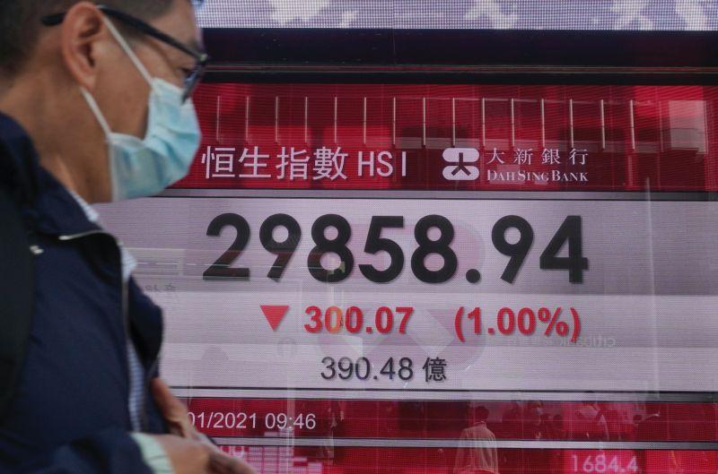 港府宣布上調股票<b>印花稅</b>30% 港股跌近千點失守三萬大關