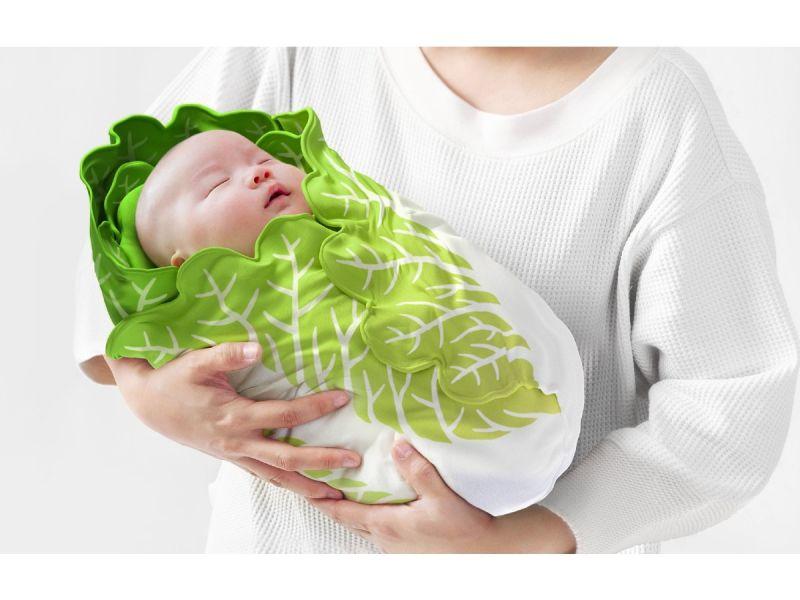 日本瘋傳「大白菜嬰兒裝」!網揭「一神物」:有既視感