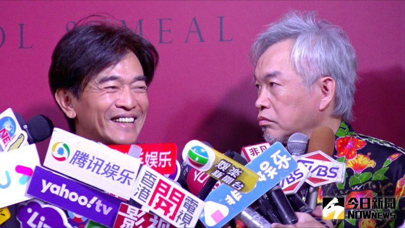 ▲吳宗憲(左)、康康評翁立友危機處理失當。(圖/記者陳明安攝)