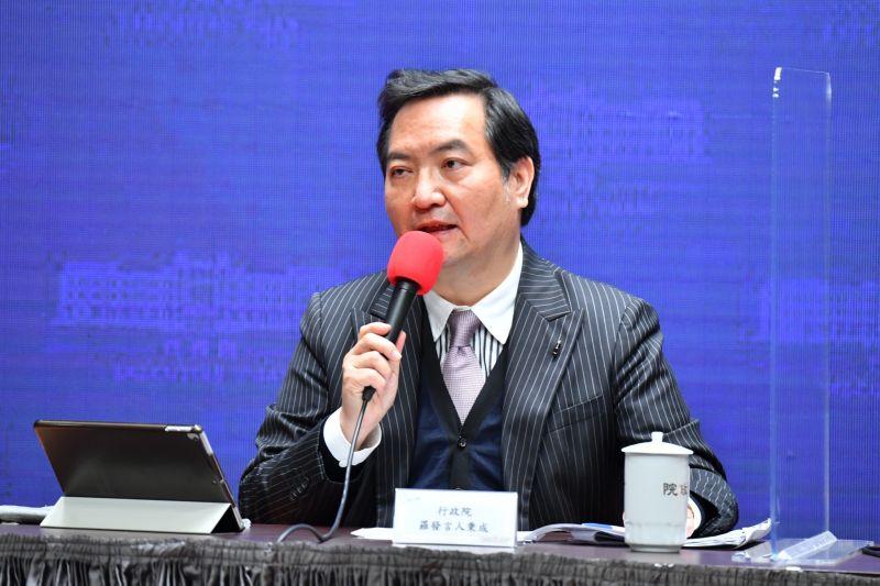 蘇貞昌會晤美訪團 盼重啟TIFA、BTA談判