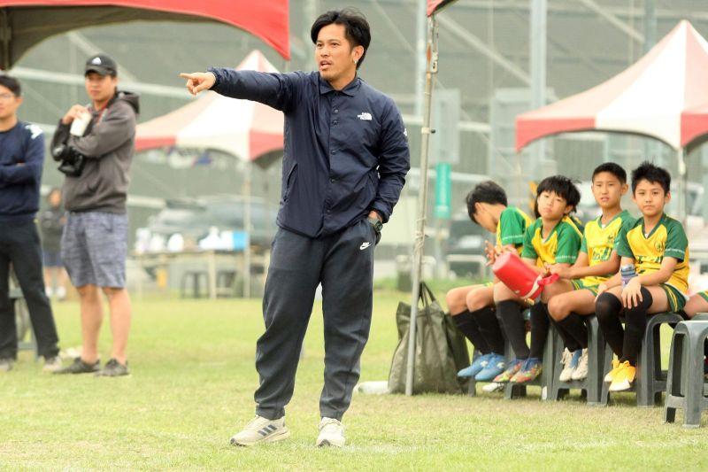 ▲公館國小教練張涵。(圖/迷你足球協會提供提供)