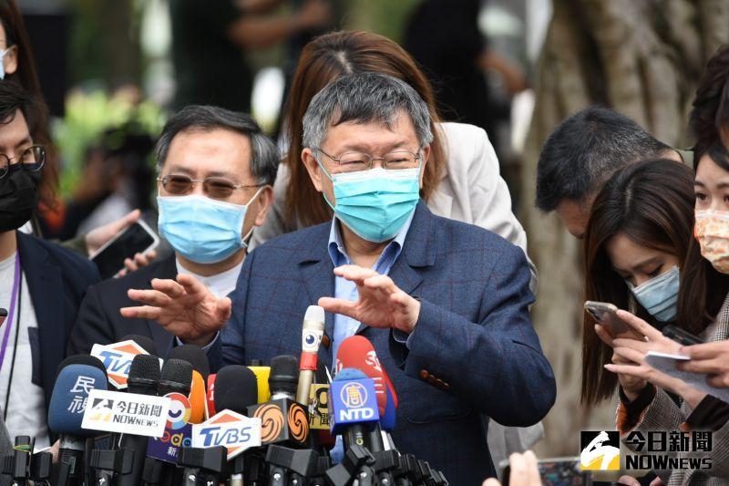 針對自己的臉書貼文直指228事件處理委員會是「反抗據點,號召起義」的說法引發爭議,台北市長柯文哲受訪時並未認錯,更希望大家「不要計較」。