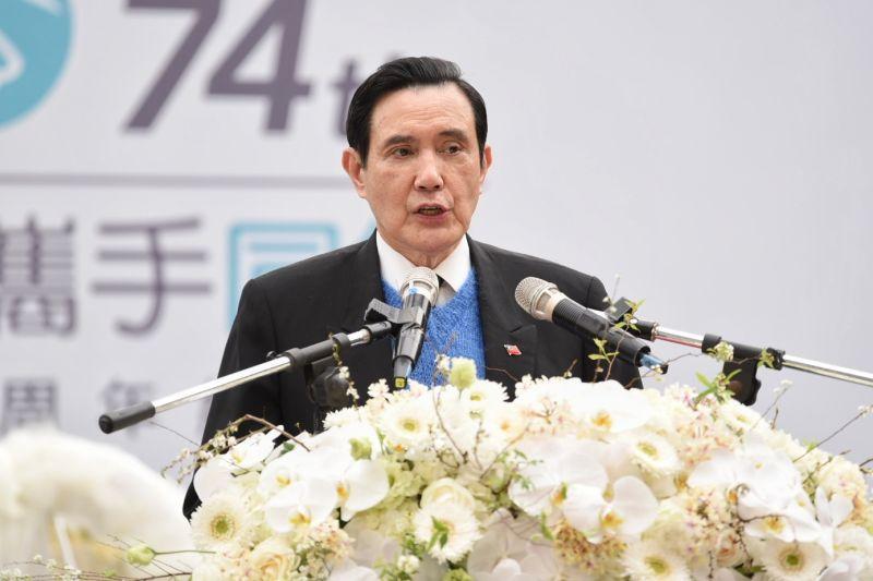 前總統馬英九參與北市228紀念活動。