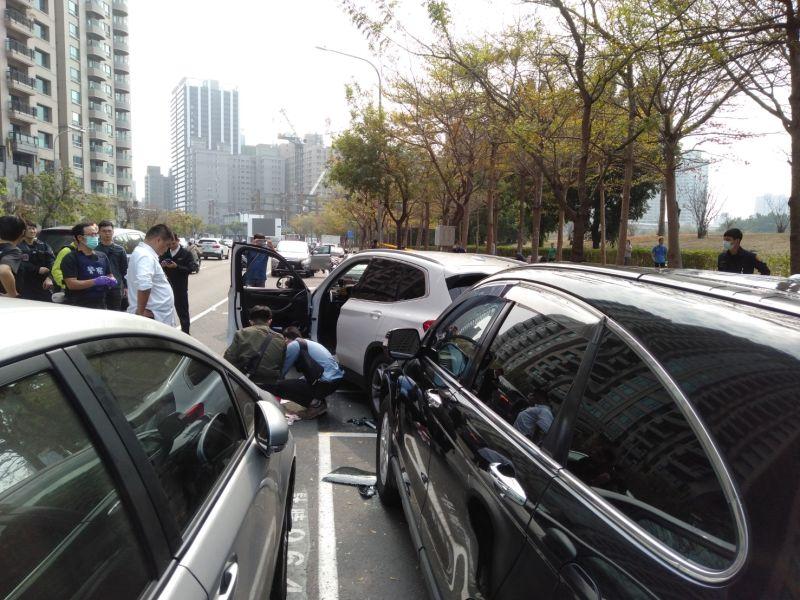 陳水扁高雄住家大樓附近傳槍響 一嫌中彈亡