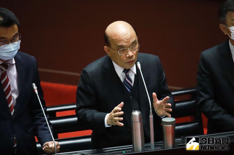 善款流向遭質疑 蘇貞昌強調會嚴格監督、公開透明