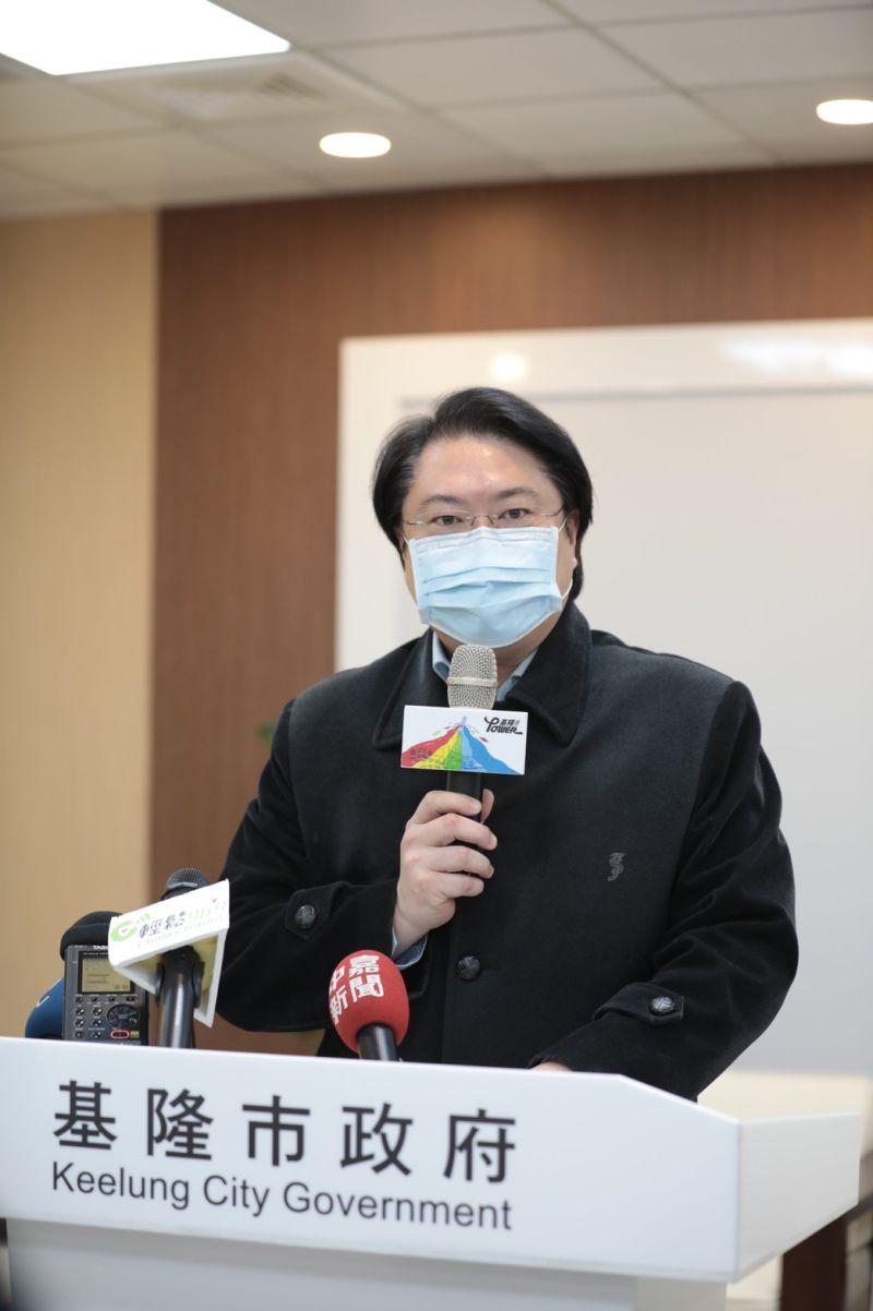 ▲基隆市長林右昌表示,中國大陸不要把民生經濟往來當成政治工具;呼籲大家不只要挺鳳梨,更應挺台灣所有的產業。(圖/基隆市政府提供)