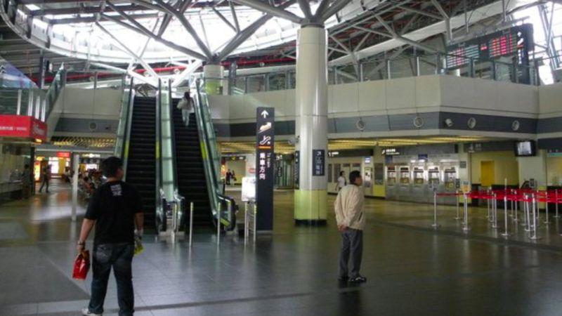 ▲台南高鐵站近日被網友點名是「全台最廢高鐵站」。(圖/讀者提供)