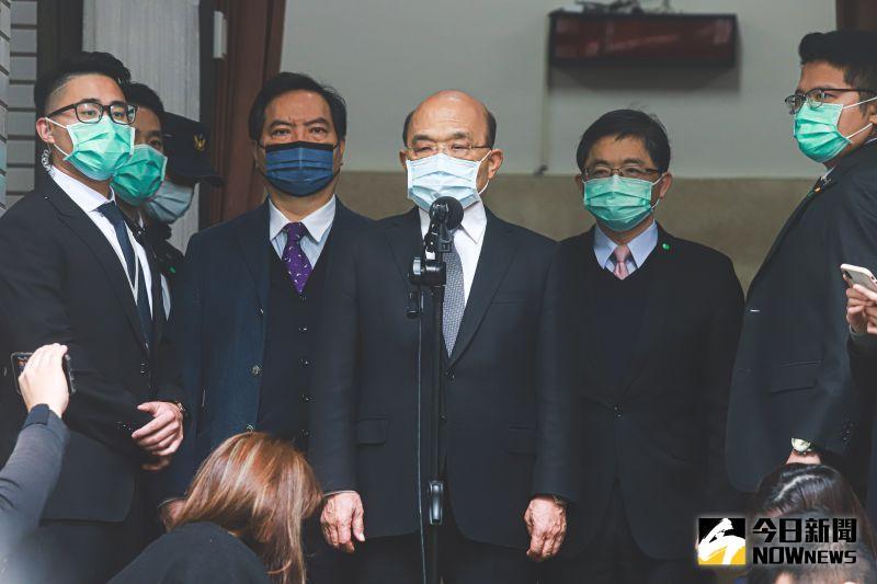 民進黨傳提反制藻礁公投案?蘇貞昌:不是經濟跟環保對抗