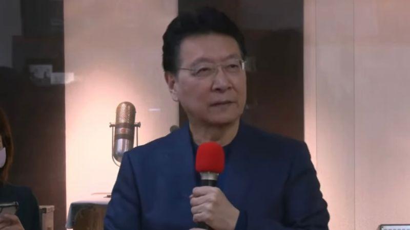 中廣董事長趙少康。