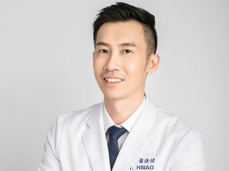 ▲蕭捷健是專業減重醫師,去年跨足演藝圈。(圖/艾迪昇傳播提供)