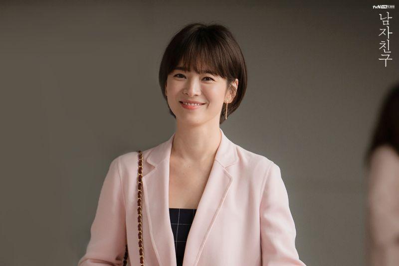 ▲2年多沒演戲的宋慧喬,掉出前10名榜單外。(圖/翻攝tvN)