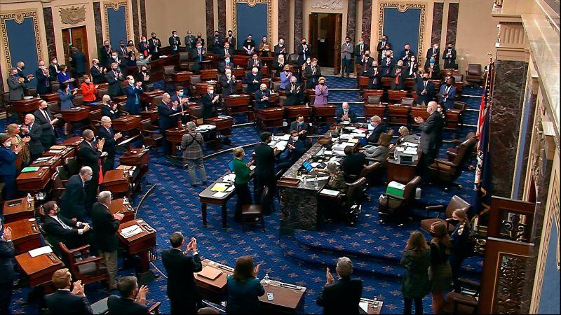 美參院通過1.9兆美元紓困法案 送回眾院處理
