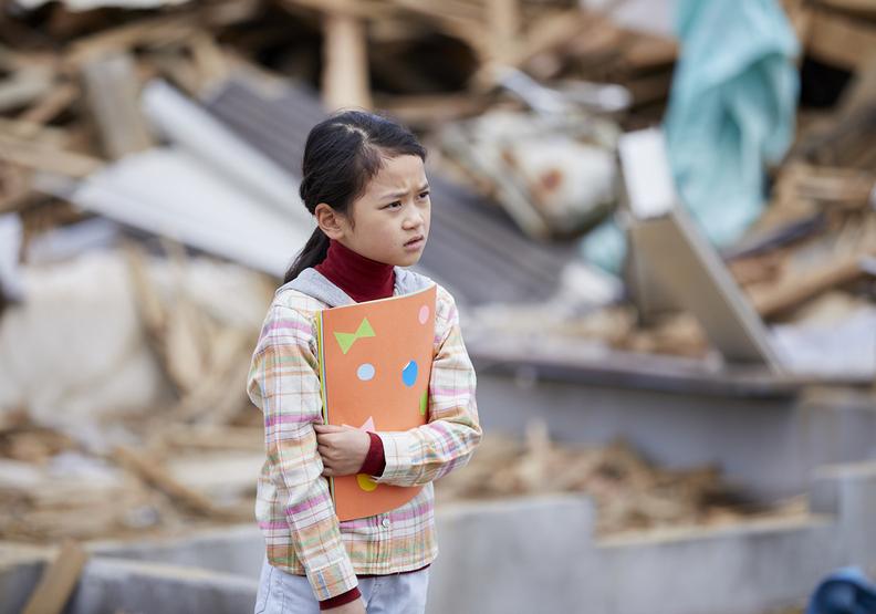 ▲《淺田家!》流暢的敘事手法帶領著觀眾回到2011年的311東北大地震。(圖/采昌國際提供)