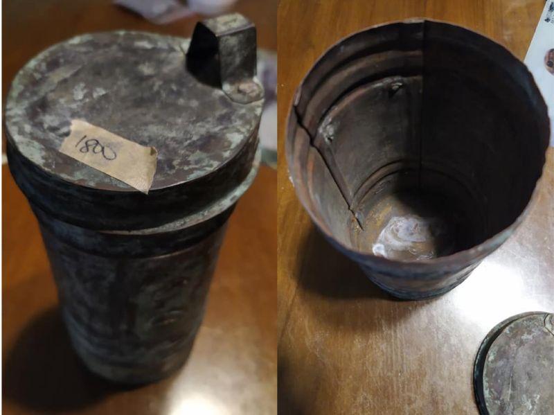 ▲妻花1800元買回二手鐵罐,讓原PO無法理解。(圖/翻攝自《爆怨公社》)