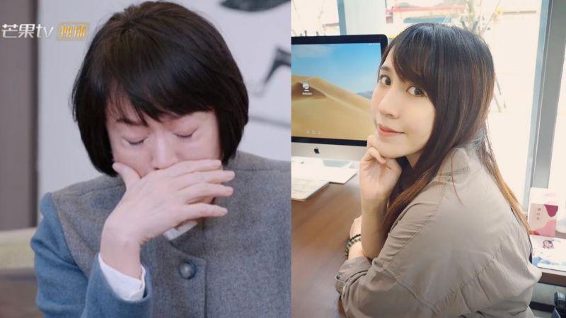 ▲林月雲(左)嘆「萬般皆是命」,潔哥(右)爆氣開嗆。(圖/芒果tv、潔哥臉書)