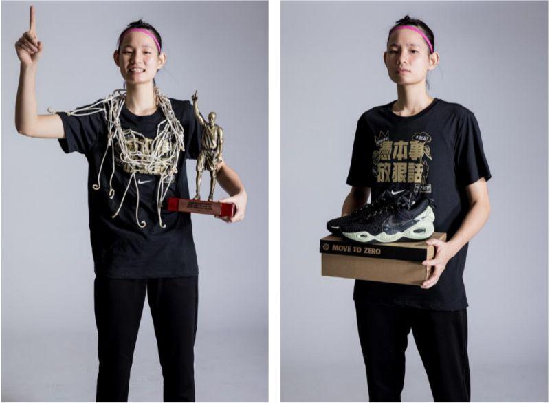 ▲HBL打造冠軍實戰「回收」球鞋。(圖/Nike提供)