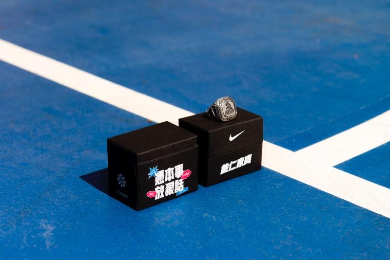 ▲HBL打造冠軍戒盒。(圖/Nike提供)