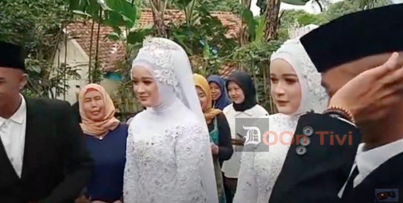▲在印尼有一對雙胞胎兄弟愛上另外一對雙胞胎姊妹,而這兩對情侶近日更在同一天完成婚禮,形成相當特殊罕見的2對雙胞胎夫妻。(圖/翻攝自