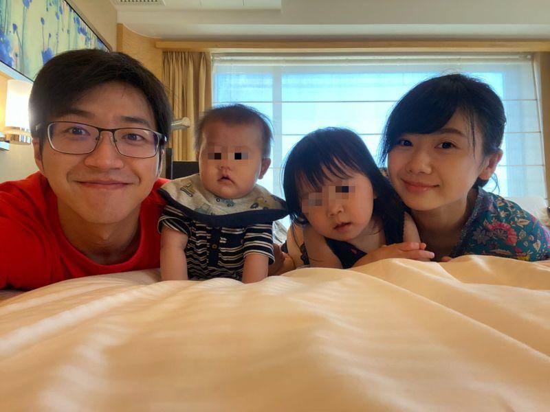 ▲福原愛(右一)、江宏傑4年多婚姻陷危機。(圖/福原愛推特)