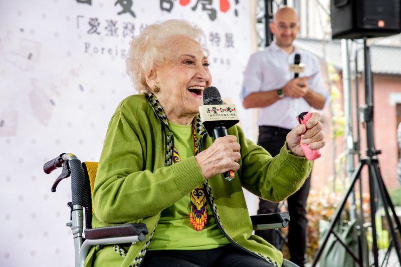 空中英語教室創辦人彭蒙惠女士
